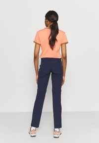 Vaude - WOMENS FARLEY STRETCH ZIP PANTS - Trousers - eclipse - 2