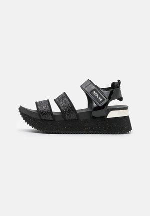 HEWISH - Platform sandals - black
