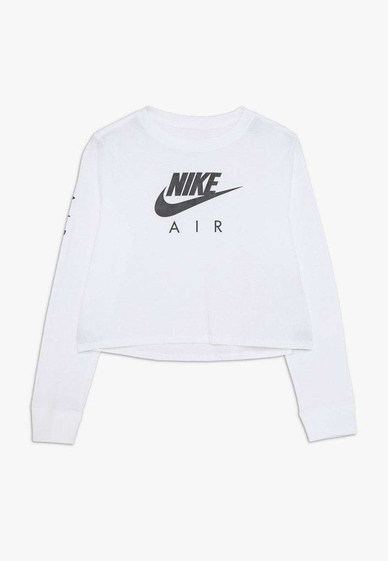 Nike Sportswear - TEE AIR CROP - Camiseta de manga larga - white