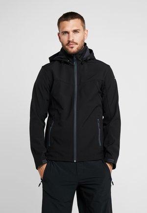 LUKAS - Soft shell jacket - black