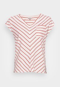 KURZARM - Print T-shirt - white doub