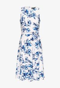 Lauren Ralph Lauren Petite - FELIA - Vestito estivo - cream/blue/multi - 2