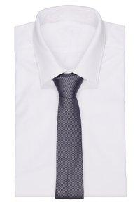 Calvin Klein - STRIPE TIE - Tie - grey - 1