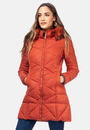 Winter coat - naranja