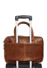Gusti Leder - Briefcase - honey brown - 4