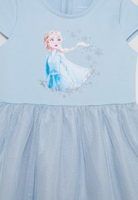 Name it - NMFFROZEN REBEC DRESS - Žerzejové šaty - blue