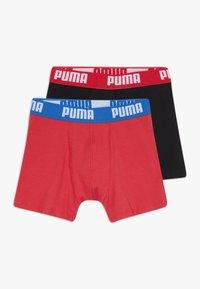 Puma - BOYS BASIC 2 PACK - Pants - red/black - 0