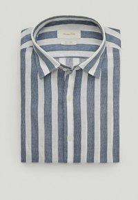 Massimo Dutti - Shirt - blue-black denim - 3