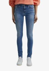 Esprit - Slim fit jeans - blue light washed - 4