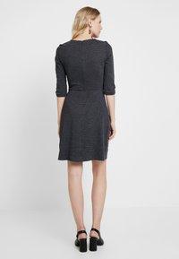 Esprit - JAQUARD DRESS - Shift dress - grey/blue - 3
