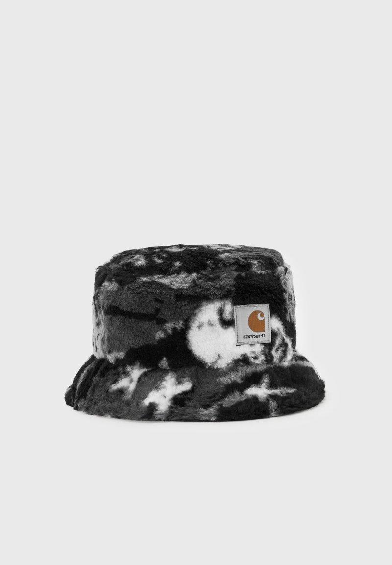 Carhartt WIP - HIGH PLAINS BUCKET HAT UNISEX - Platmale - black/grey
