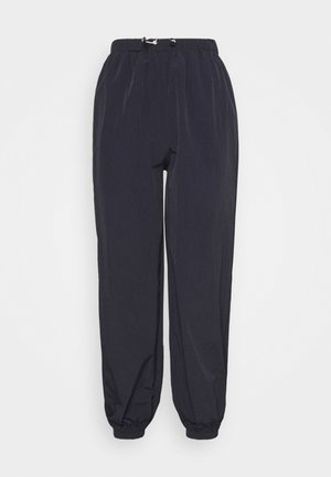 TOGGLE WAIST JOGGER - Tracksuit bottoms - navy