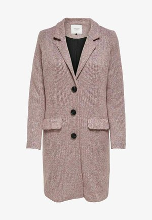 JDYBESTY  FALL - Classic coat - wistful mauve/melange