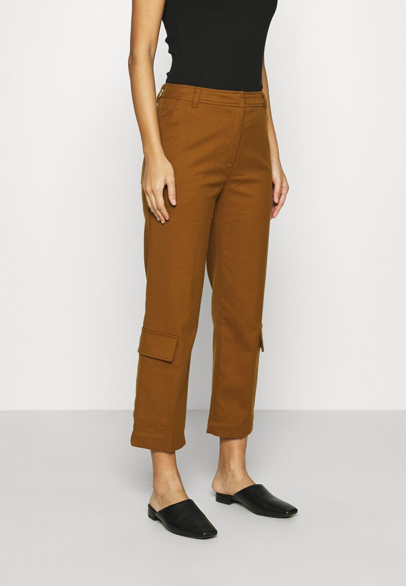 Who What Wear - TROUSER - Trousers - brown