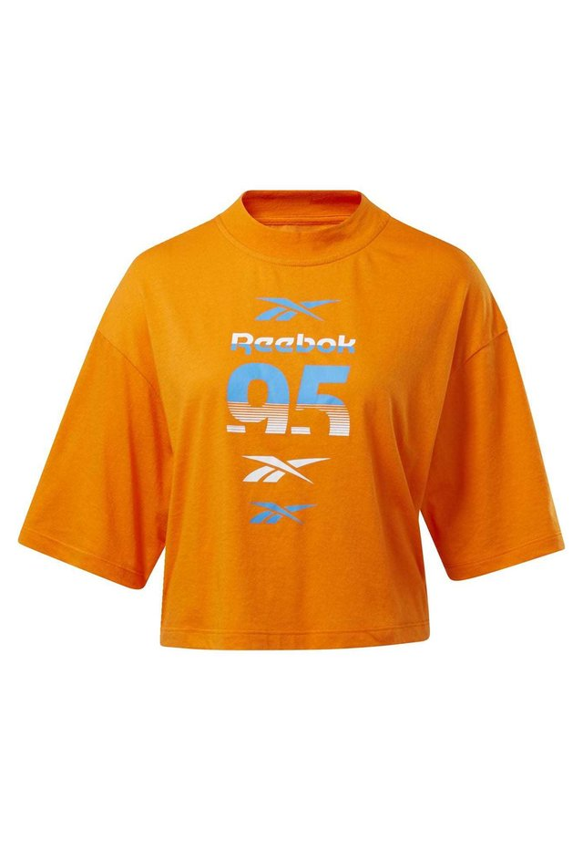 MYT GRAPHIC T-SHIRT - Print T-shirt - orange
