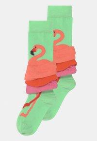 Happy Socks - FLAMINGO 2 PACK - Socks - multicoloured - 0