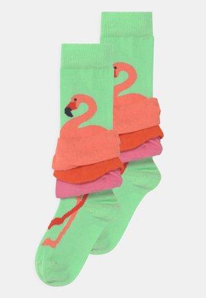 FLAMINGO 2 PACK - Calcetines - multicoloured