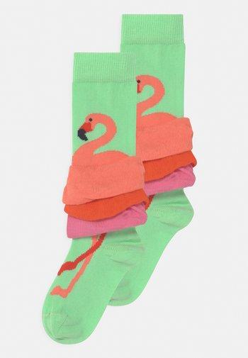 FLAMINGO 2 PACK - Socks - multicoloured