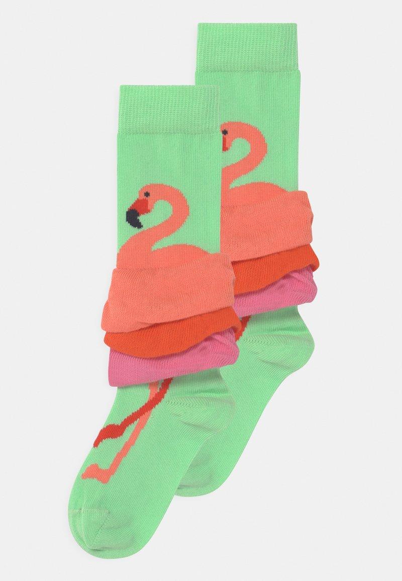 Happy Socks - FLAMINGO 2 PACK - Socks - multicoloured