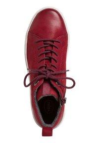 Jana - SNEAKER - Zapatillas altas - chili - 1