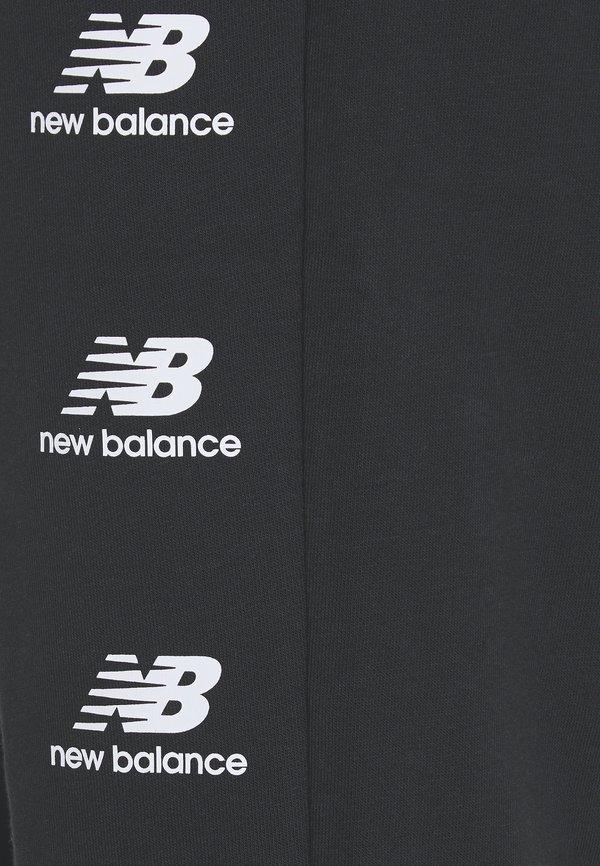 New Balance ESSENTIALS STACK PACK - Spodnie treningowe - black/czarny Odzież Męska CXYW