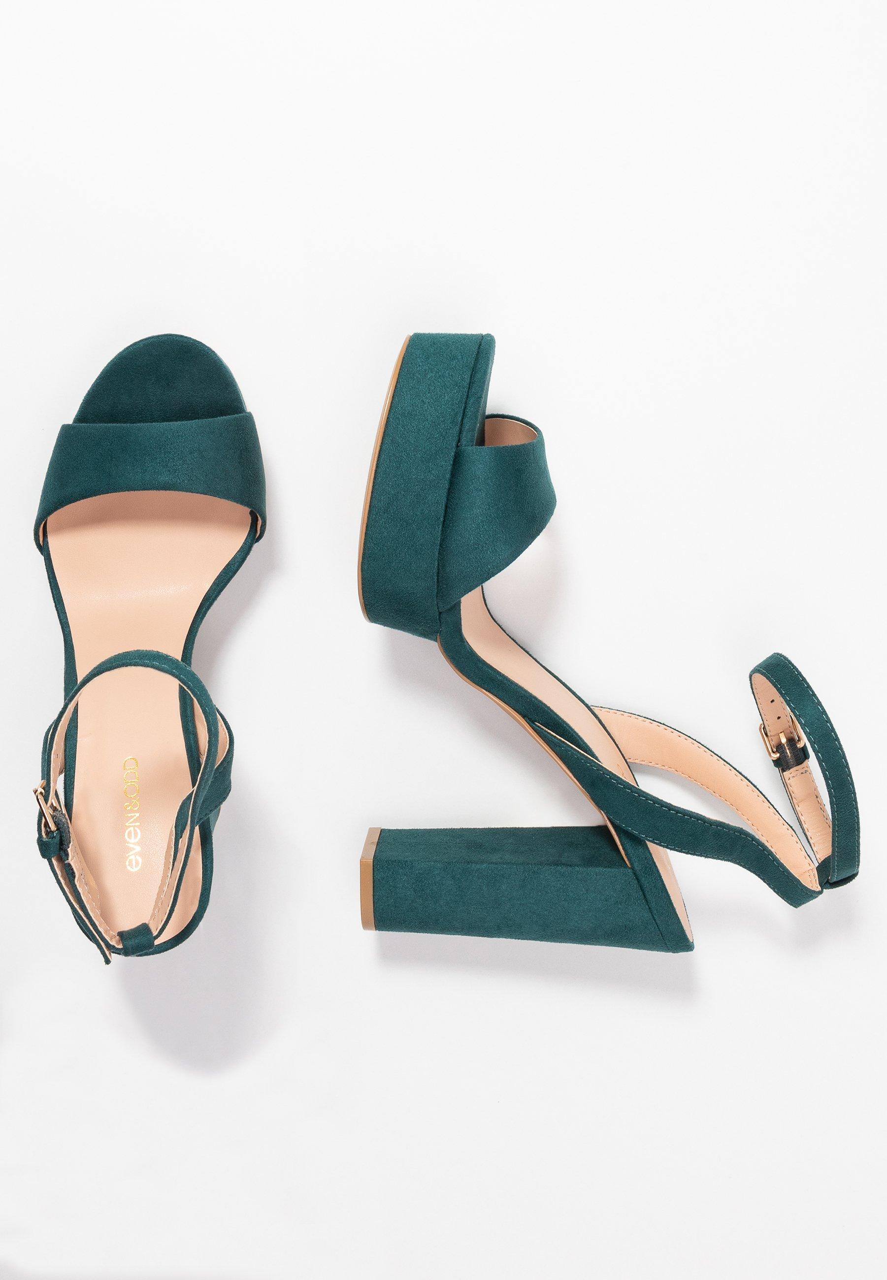 Even&Odd - High heeled sandals - green