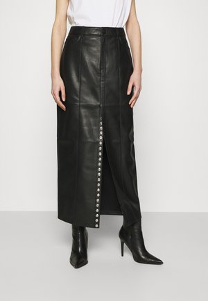 EVE SKIRT - Maxiskjørt - black