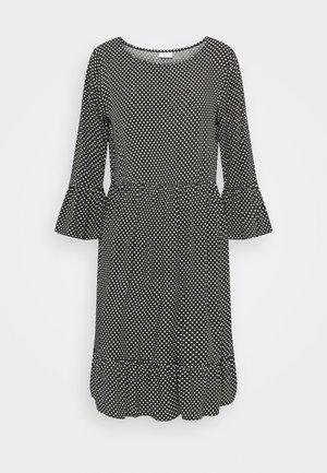 VIMOSTY MEDI DRESS - Day dress - black/white