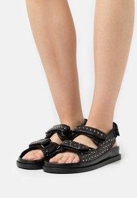 Copenhagen Shoes - STUDS ON - Sandals - black - 0