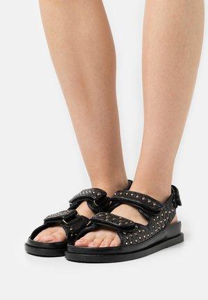 STUDS ON - Sandals - black