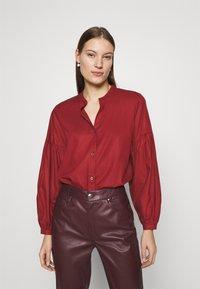 ARKET - BLOUSE - Košile - red dark - 0