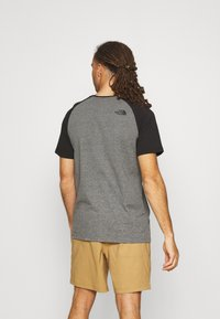 The North Face - RAGLAN EASY TEE - T-shirts med print - mottled grey - 2