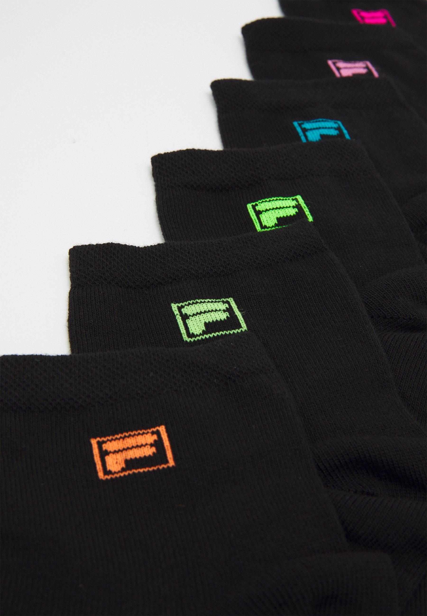 Men QUARTER PLAIN SOCKS 6 PACK UNISEX - Socks