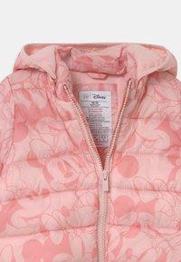 GAP - PUFFER DETACH HOOD - Winter jacket - pure pink - 3