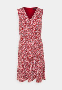 Lauren Ralph Lauren - ELNA SLEEVELESS DAY DRESS - Day dress - lighthouse navy/red/cream - 5