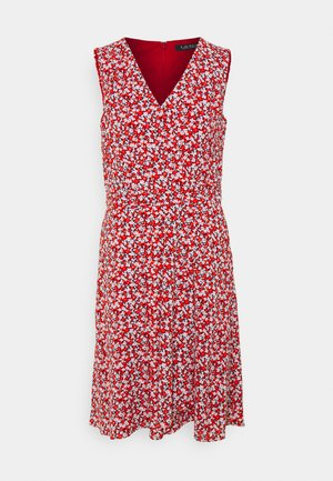 ELNA SLEEVELESS DAY DRESS - Robe d'été - lighthouse navy/red/cream