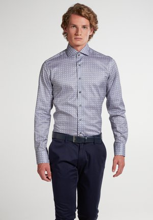 SLIM FIT - Overhemd - grau/blau