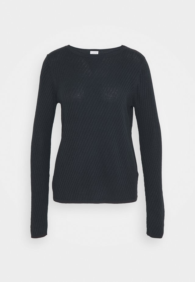 STRUCTURED - Sweter - night navy