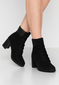 Timberland - ALLINGTON 6IN LACE UP - Lace-up ankle boots - black - 0