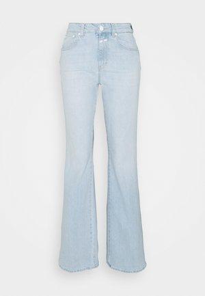 LEAF - Jeans a zampa - light blue
