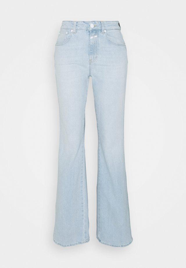 LEAF - Flared Jeans - light blue