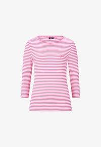 JOOP! - Long sleeved top - pink/weiß gestreift - 3