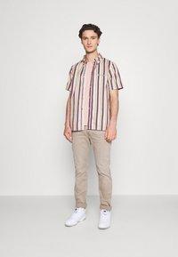 Kickers Classics - VERTICAL STRIPE SHORT SLEEVE SHIRT - Shirt - multi-coloured - 1