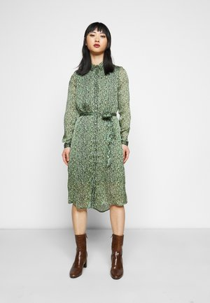 VMKATINKA DRESS  - Shirt dress - dark green