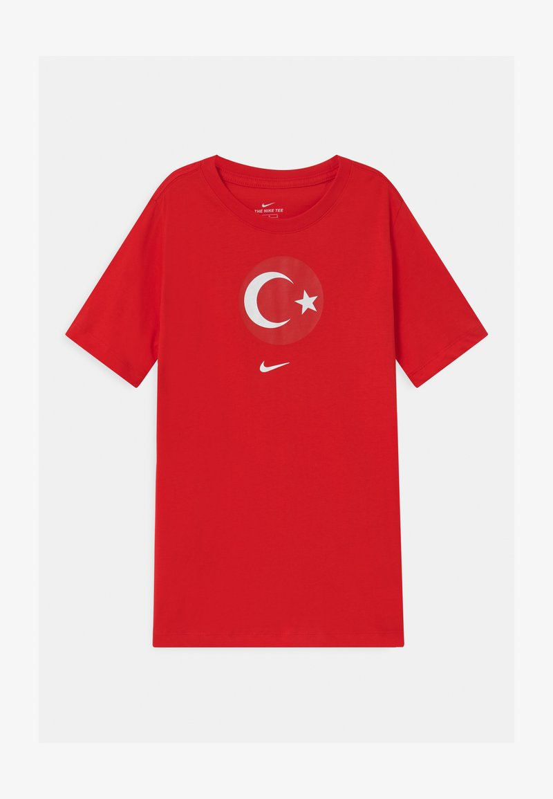Nike Performance - TÜRKEI EVERGREEN CREST - Print T-shirt - university red