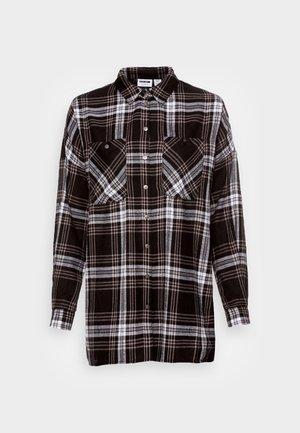 NMERIK WINTER OVERSIZE SHIRT - Skjorte - black