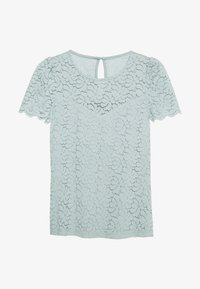 Dorothy Perkins - PUFF SLEEVE TEE - Bluse - pale green - 0