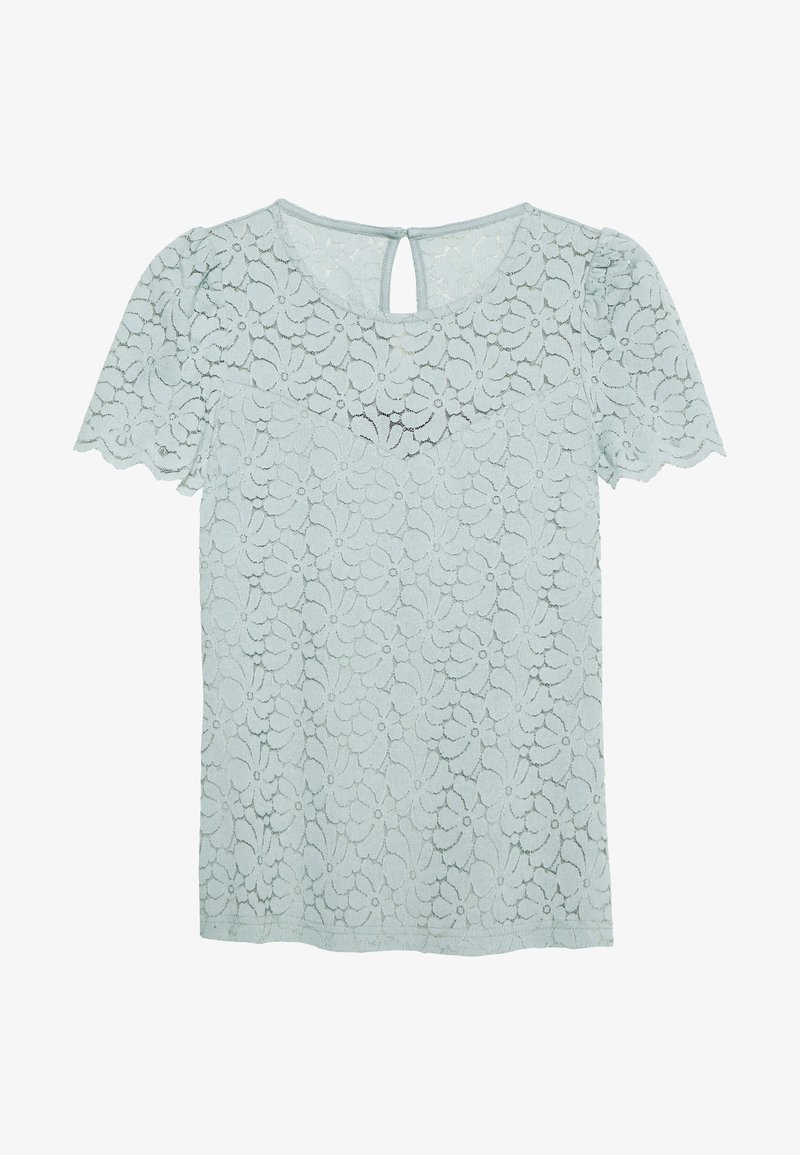 Dorothy Perkins - PUFF SLEEVE TEE - Bluse - pale green