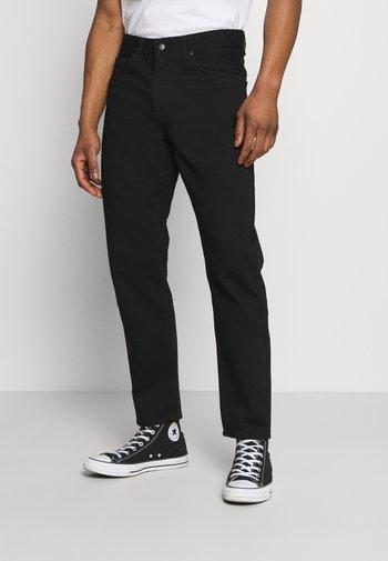 NEWEL PANT MAITLAND - Relaxed fit -farkut - black rinsed