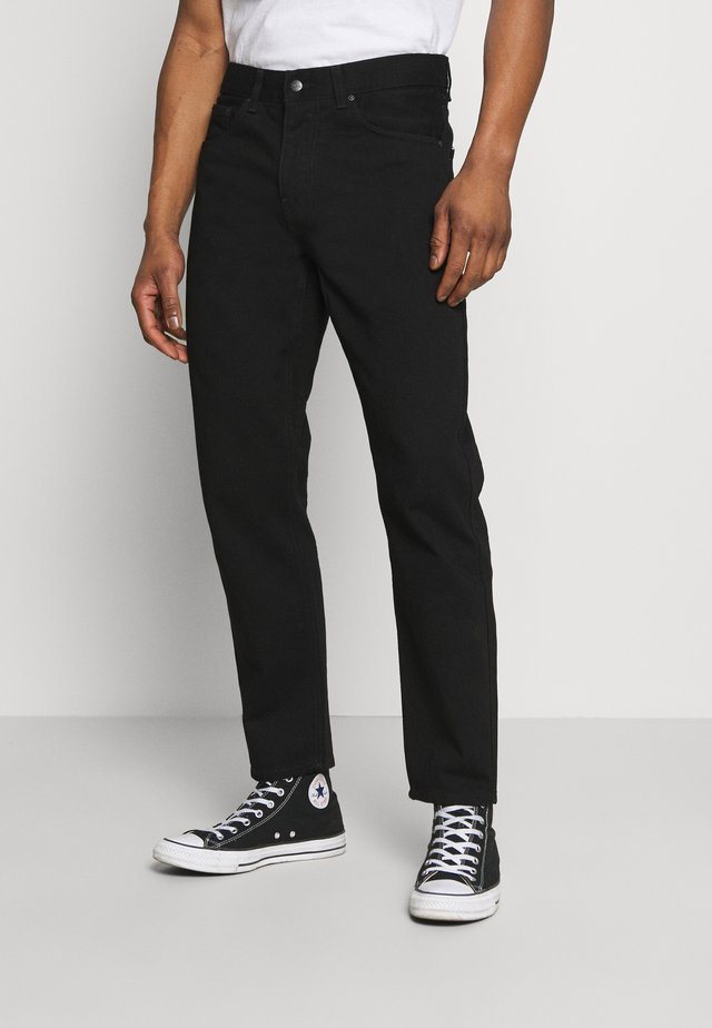 NEWEL PANT MAITLAND - Relaxed fit -farkut - black rinsed